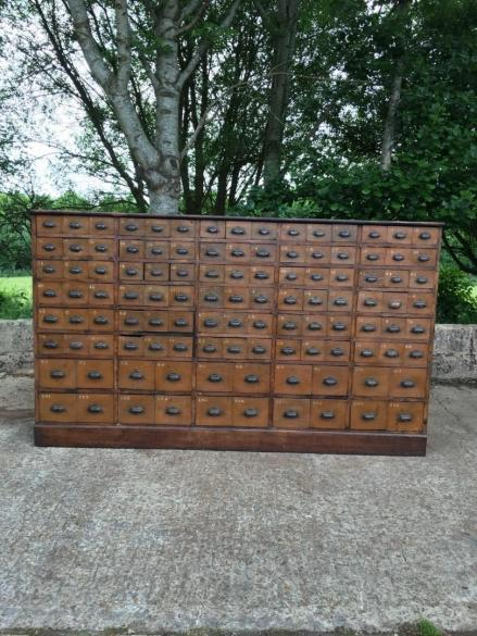 antique bank of drawers, antiques west sussex